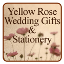 Yellow Rose Wedding Gifts & Stationery